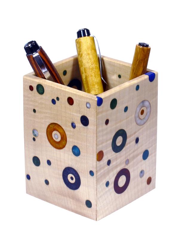Pot à crayon ligne Arlequin n°1